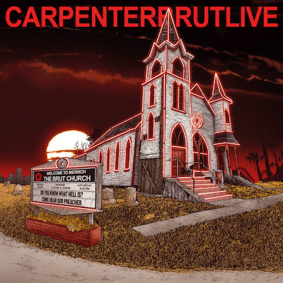 carpenter brut live album cover