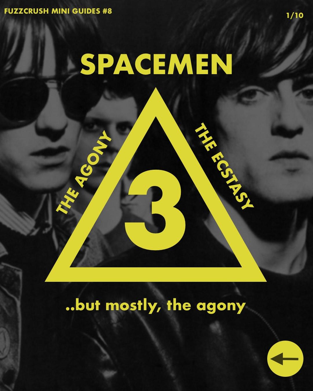 Spacemen 3 Zine cover