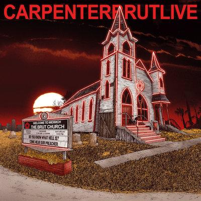carpenter brut live album cover