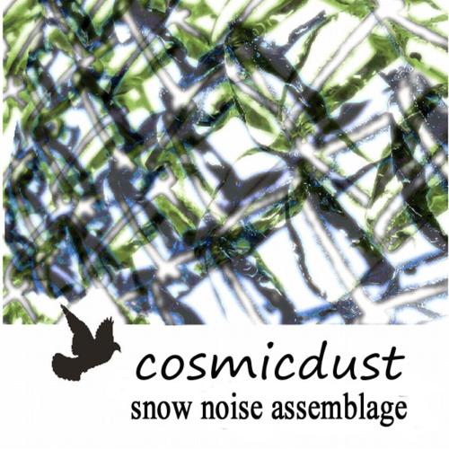 cosmicdust snow noise assemblage album cover