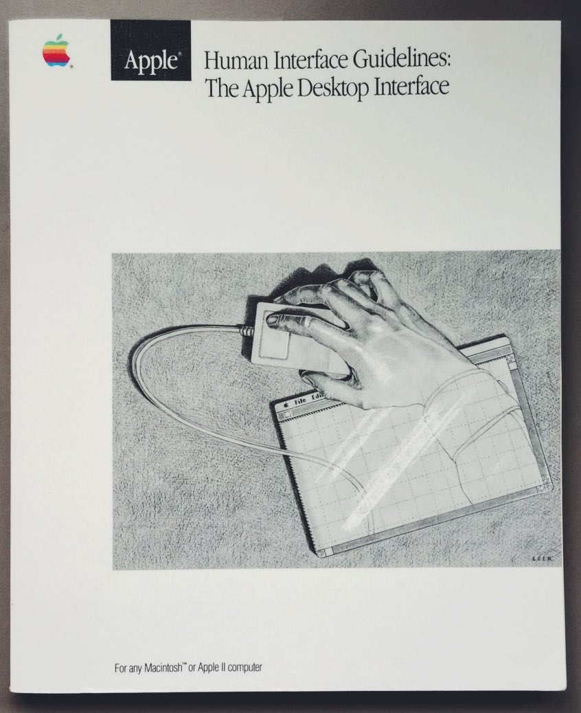Apple Human Interface Guidelines book